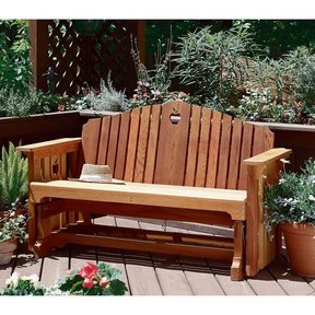 Woodworking Project Paper Plan to Build Porch Glider