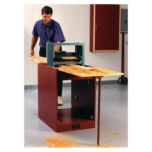 View a Larger Image of Woodworking Project Paper Plan to Build Portable Planer Thicknessing Center