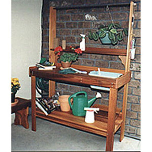 View a Larger Image of Woodworking Project Paper Plan to Build Potting Table