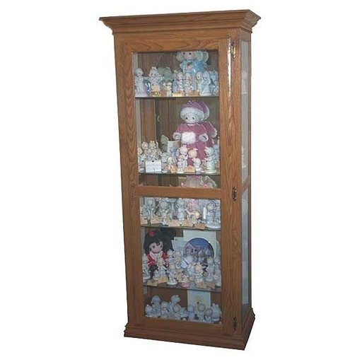 View a Larger Image of Woodworking Project Paper Plan to Build Precious Moments Curio Cabinet, AFD300
