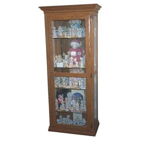 Woodworking Project Paper Plan to Build Precious Moments Curio Cabinet, AFD300
