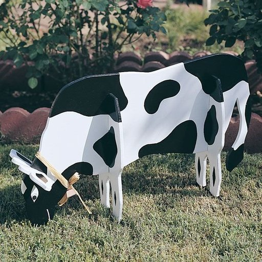 View a Larger Image of Woodworking Project Paper Plan to Build Pull-Apart Cow