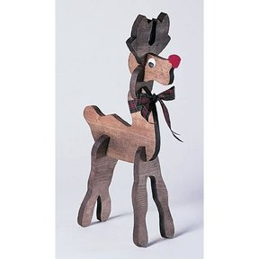 Woodworking Project Paper Plan to Build Pull-Apart Reindeer, Plan No. 819