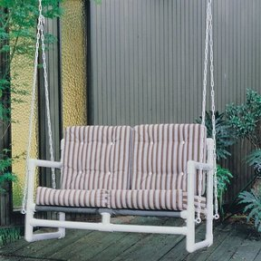 Woodworking Project Paper Plan to Build PVC Hanging Swing, Plan No. 742