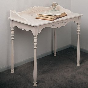 Woodworking Project Paper Plan to Build Queen Anne Desk