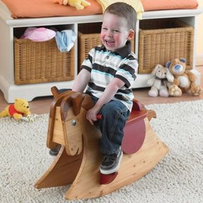 Woodworking Project Paper Plan to Build Quick and Easy Rocking Horse