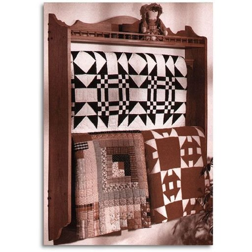 View a Larger Image of Woodworking Project Paper Plan to Build Quilt Showcase