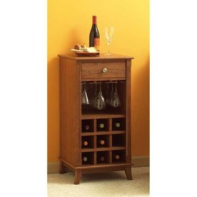 Woodworking Project Paper Plan to Build Ready-to-Serve Wine Cabinet
