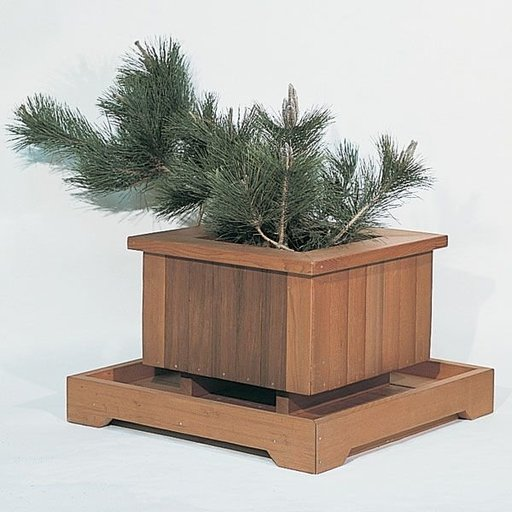 View a Larger Image of Woodworking Project Paper Plan to Build Redwood Planters, Plan No. 562
