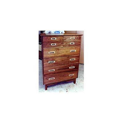 View a Larger Image of Woodworking Project Paper Plan to Build Retro Chest of Drawers