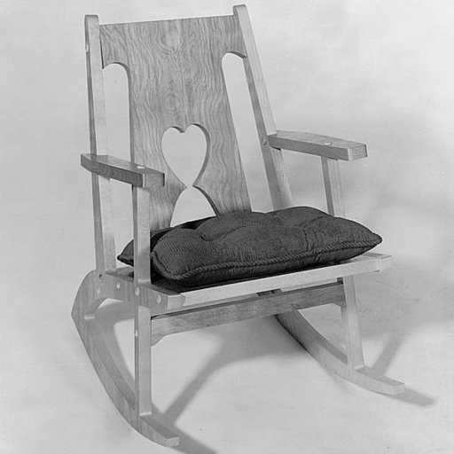 View a Larger Image of Woodworking Project Paper Plan to Build Rocking Chair, Plan No. 392