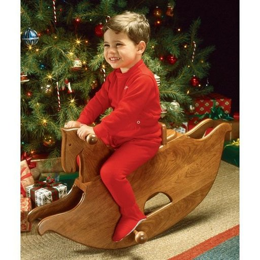 View a Larger Image of Woodworking Project Paper Plan to Build Rocking Horse