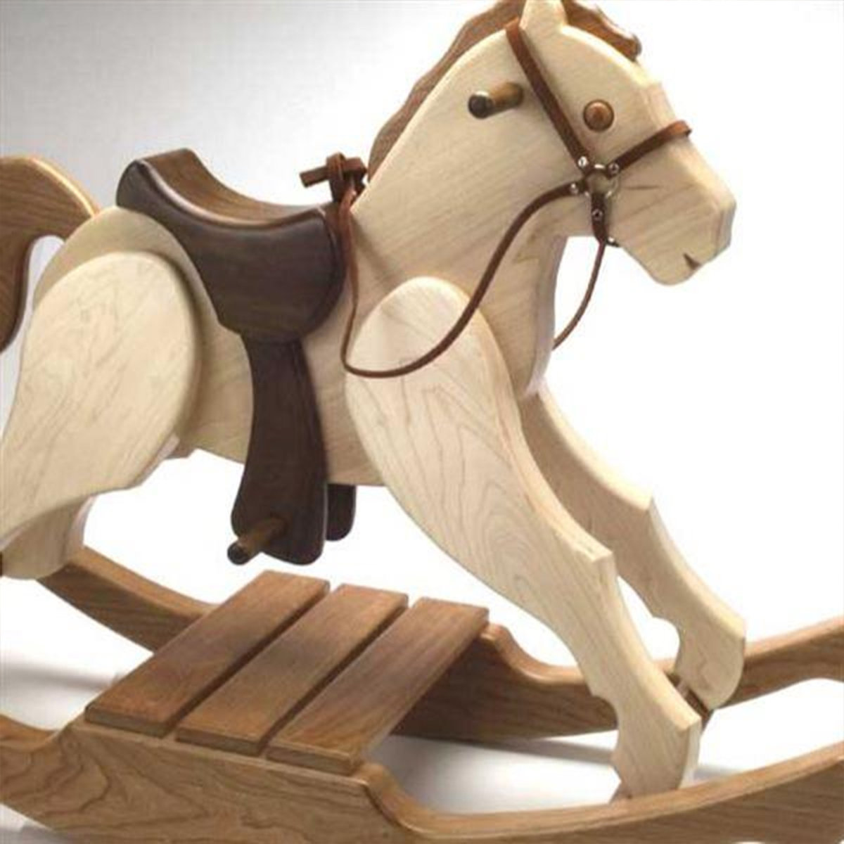 Woodworking Project Paper Plan To Build Rocking Pony