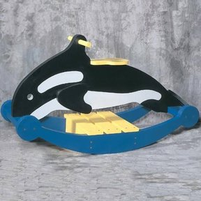 Woodworking Project Paper Plan to Build Rocking Whale, Plan No. 913