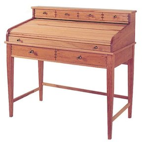 Woodworking Project Paper Plan to Build Rolltop Writing Desk