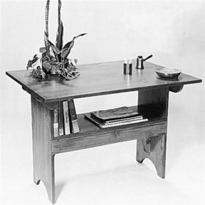 Woodworking Project Paper Plan to Build Salem Bench, Plan No. 279