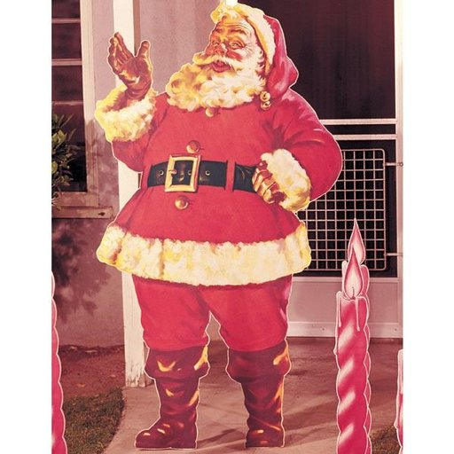 View a Larger Image of Woodworking Project Paper Plan to Build Santa Claus, Plan No. 189