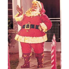 Woodworking Project Paper Plan to Build Santa Claus, Plan No. 189