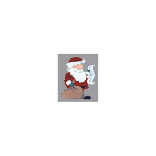 View a Larger Image of Woodworking Project Paper Plan to Build Santa with List