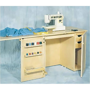 Woodworking Project Paper Plan to Build Sewing Cabinet, No. 887
