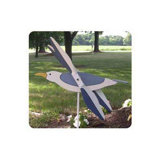 View a Larger Image of Woodworking Project Paper Plan to Build Seagull Whirligig