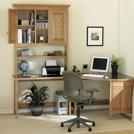View a Larger Image of Woodworking Project Paper Plan to Build Sensational Sectional Desk System
