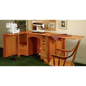 Woodworking Project Paper Plan to Build Sewing Cabinet