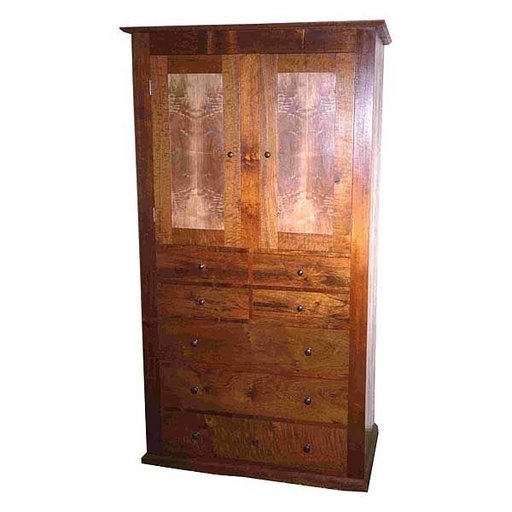View a Larger Image of Woodworking Project Paper Plan to Build Shaker Dresser, AFD145