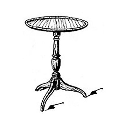 View a Larger Image of Woodworking Project Paper Plan to Build Shaker Round Table