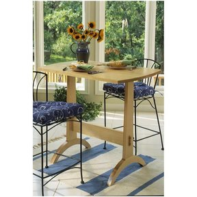 Woodworking Project Paper Plan to Build Shaker Trestle Table