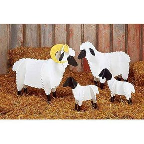 Woodworking Project Paper Plan to Build Sheep