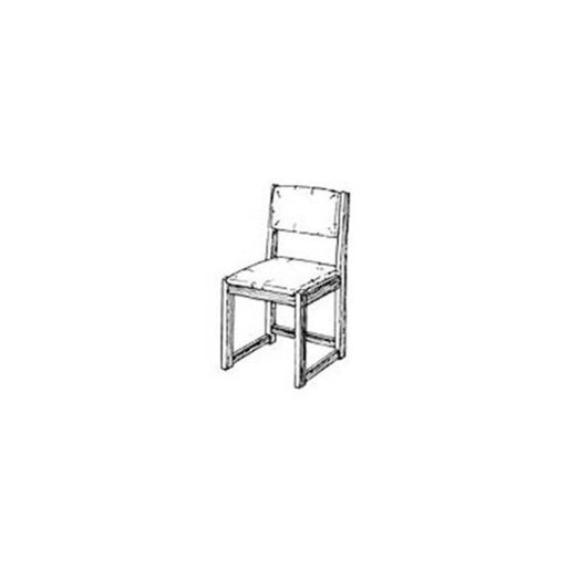 View a Larger Image of Woodworking Project Paper Plan to Build Simple Side Chair
