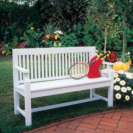 View a Larger Image of Woodworking Project Paper Plan to Build Sittin' Pretty Settee