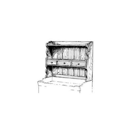 View a Larger Image of Woodworking Project Paper Plan to Build Small Hutch