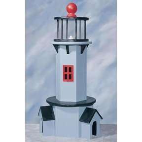 Woodworking Project Paper Plan to Build Small Lighthouse