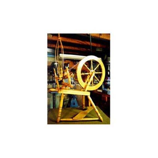 View a Larger Image of Woodworking Project Paper Plan to Build Small Spinning Wheel