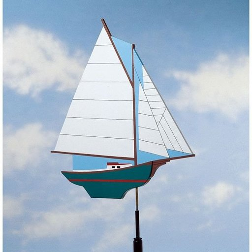 View a Larger Image of Woodworking Project Paper Plan to Build Smooth-Sailing Weather Vane