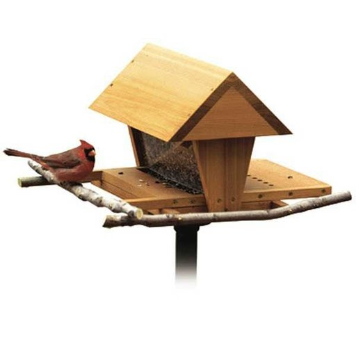 View a Larger Image of Woodworking Project Paper Plan to Build Snack Shop Bird Feeder