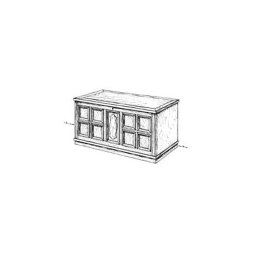 View a Larger Image of Woodworking Project Paper Plan to Build Spanish Chest