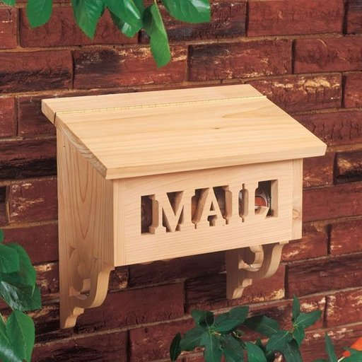 View a Larger Image of Woodworking Project Paper Plan to Build Special Delivery Mailbox