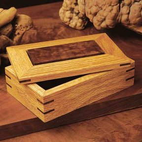 Woodworking Project Paper Plan to Build Splined Ornamental Box