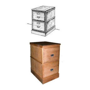 Woodworking Project Paper Plan to Build Stackable Filing Cabinet