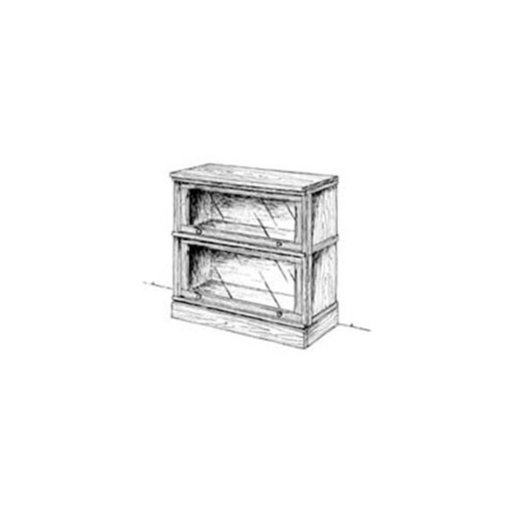 Woodcraft Woodworking Project Paper Plan To Build Stackable Lawyer S Bookcase
