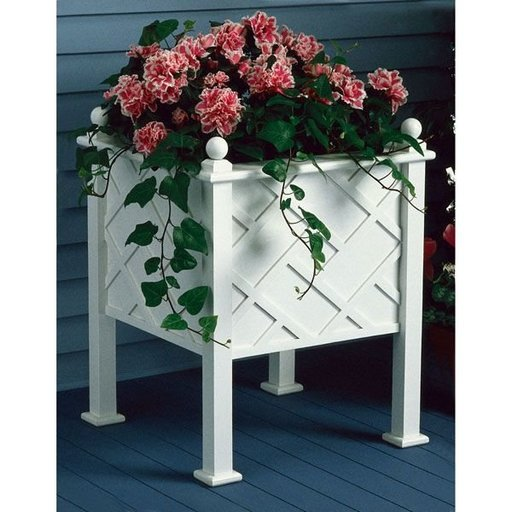 View a Larger Image of Woodworking Project Paper Plan to Build Stately Planter