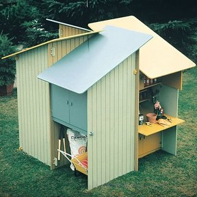 Woodworking Project Paper Plan to Build Storage Center, Plan No. 513