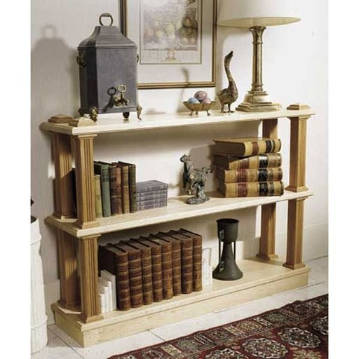View a Larger Image of Woodworking Project Paper Plan to Build Strong-On-Style Shelf System