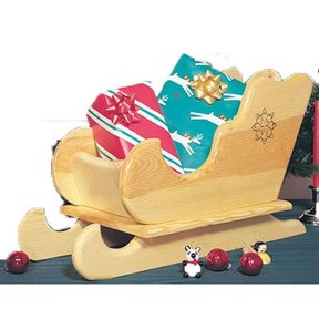 Woodworking Project Paper Plan to Build Table-top Sleigh, Plan No. 848
