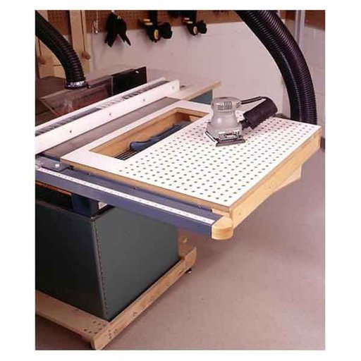 woodworking project paper plan to build tablesaw sanding table. Black Bedroom Furniture Sets. Home Design Ideas
