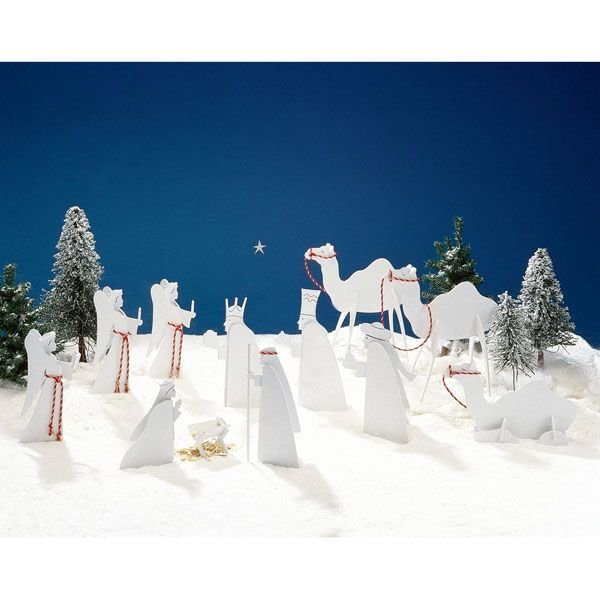 how to make nativity figures