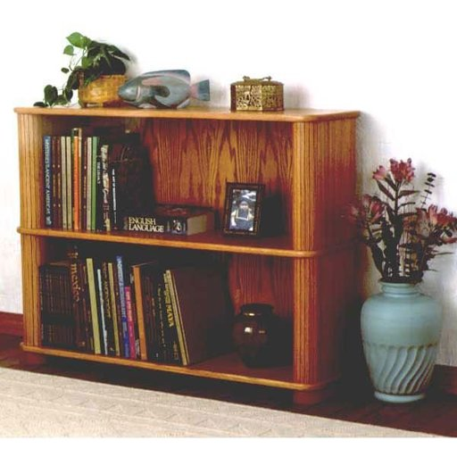 View a Larger Image of Woodworking Project Paper Plan to Build Tambour Bookcase